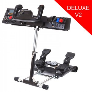 Wheelstand V2 Stand for Logitech Pro Flight Yoke System (stand only)