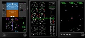 simPlugins Add-on EFIS Instruments to Panel Builder