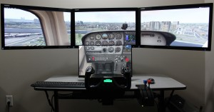 Quad Screen Package For X-Plane 10/11, Prepar3D, and FSX