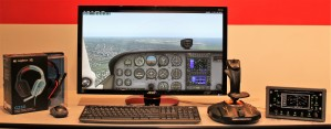 Single Display Training System for PilotWorkshops