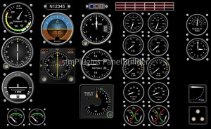 simPlugins Add-on Analog Instruments to EFIS Program
