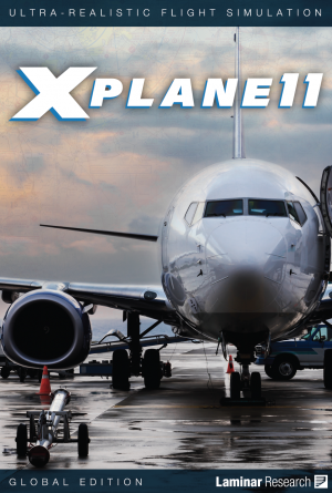 X-Plane Version 11 (Global) DVD