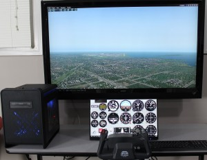 Dual-Display X-Plane Touch Package